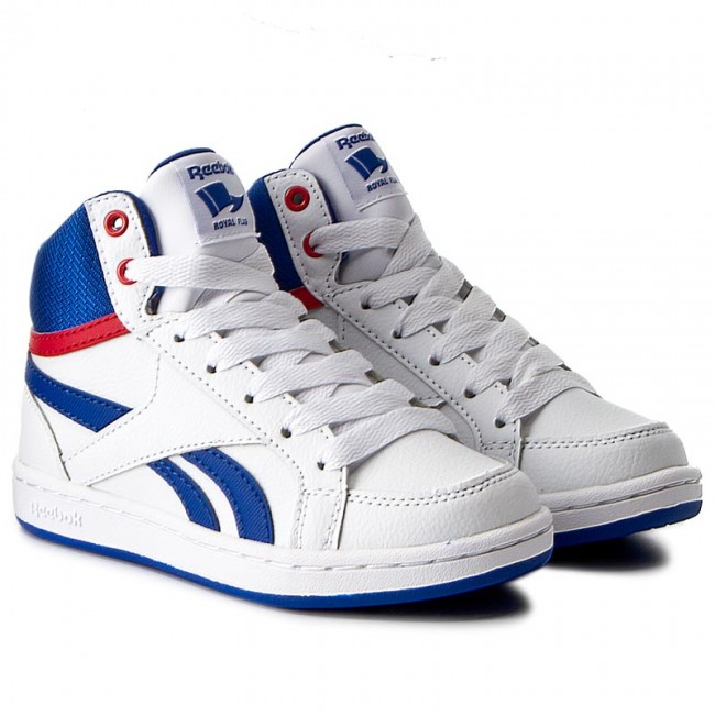 Shoes Reebok Royal Prime Mid BS7328 WhiteVital BlueRed