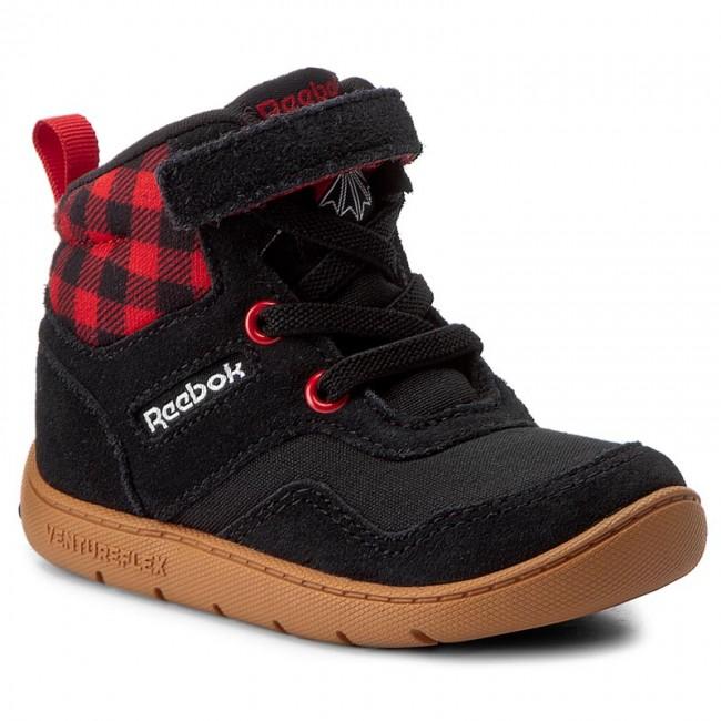 99b8278d06c8 Boots Reebok - Ventureflex Sneaker Boot BS6318 Black Primal Red ...