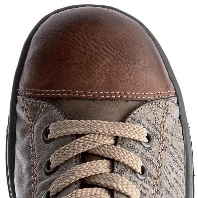 Boots RIEKER Z8753 24 Brown Combination Boots High