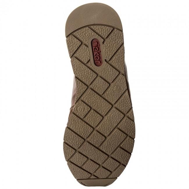 Sneakers RIEKER 19401 25 Brown Combination Sneakers g8jXU