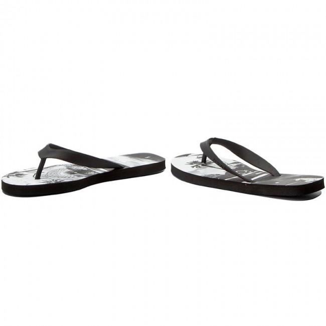 481aa11a8fd Slides Reebok - Cash Flip BS8549 Graphic Black White - Flip-flops ...