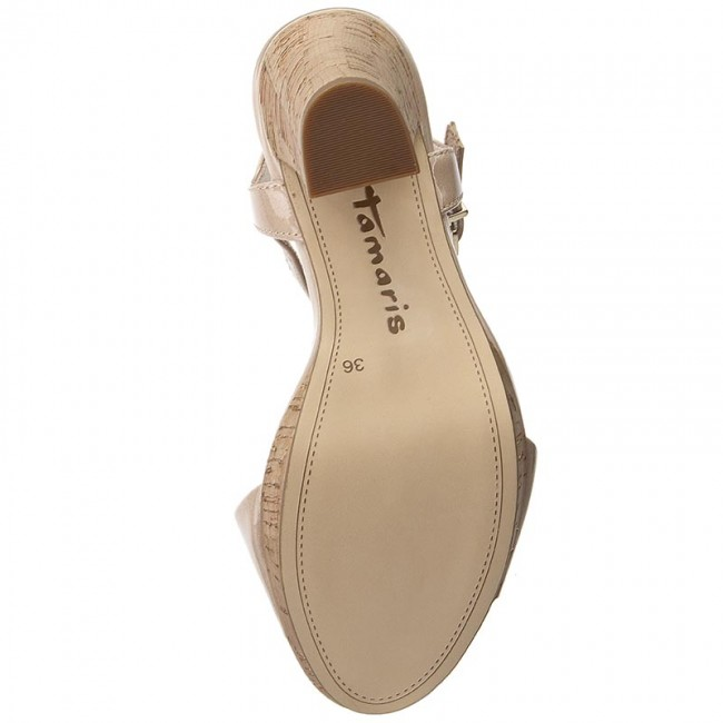Sandals TAMARIS 1 28002 38 Shell Patent 433
