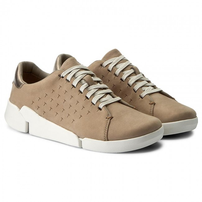 Sneakers CLARKS Tri Abby 261218334 Sand Combi