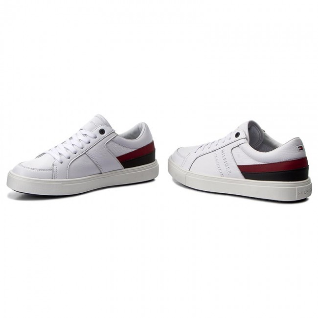 d867254b9be25a Sneakers TOMMY HILFIGER - Moon 1C1 FM0FM00677 White 100 - Sneakers ...