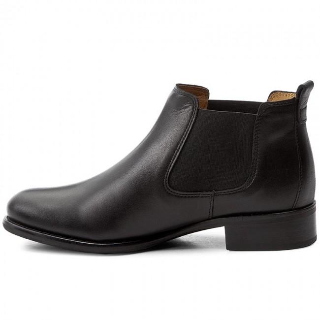 Ankle 640 71 GABOR boots Elastic 27 Schwarz High sides Boots qTZqrwH