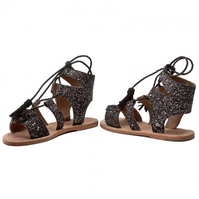 Sandalen PEPE JEANS - Malibu Glitter PLS90241 Black 999 mnIlrUpg