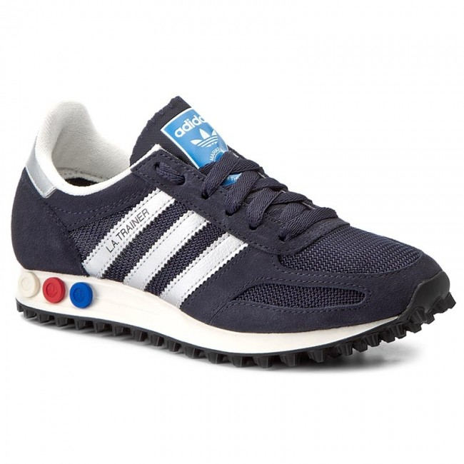 Shoes adidas - La Trainer Og BY9323 Legink Msilve Ntnavy - Sneakers ... 1c9123d4ba