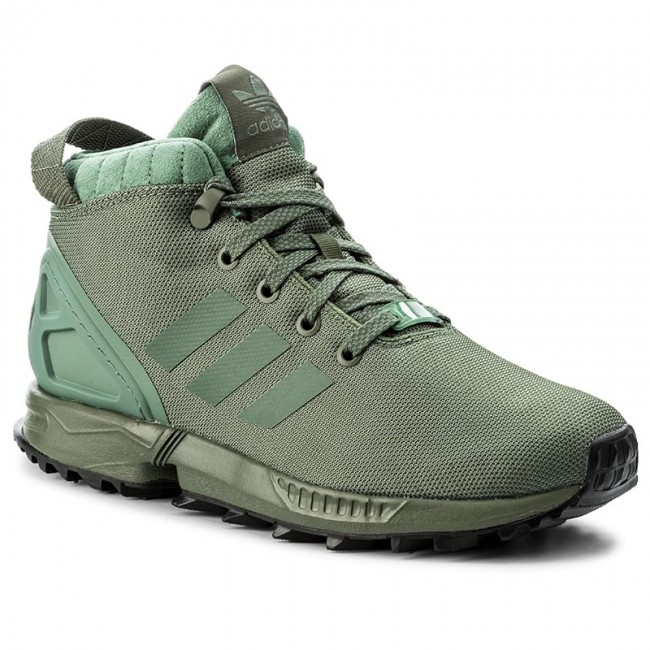 adidas originals mens zx flux 5/8 tr trainers