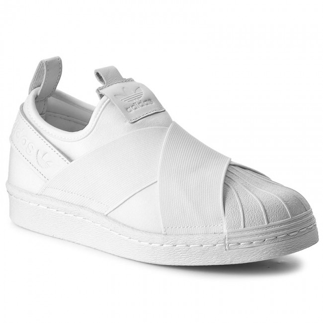 Shoes adidas - Superstar Slip On BZ0111 Ftwwht/Ftwwht/Ftwwht