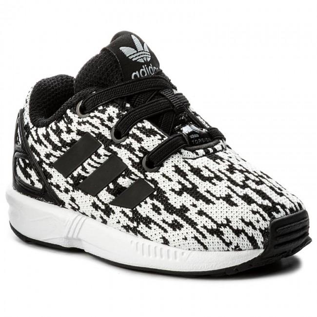 Shoes adidas - Zx Flux El I BY9896 Cblack Cblack Ftwwht - Laced ... 3af302700a24