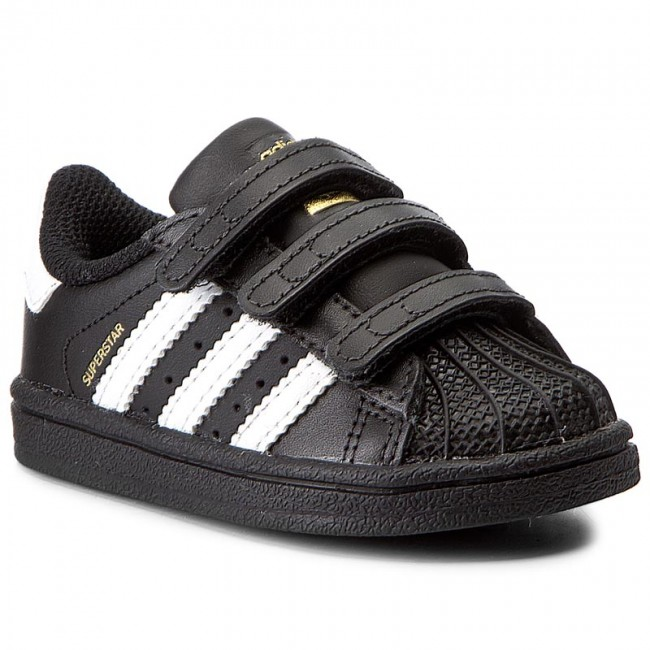 df1a94aad5443 Shoes adidas - Superstar CF I BZ0419 Cblack Ftwwht Cblack - Velcro ...