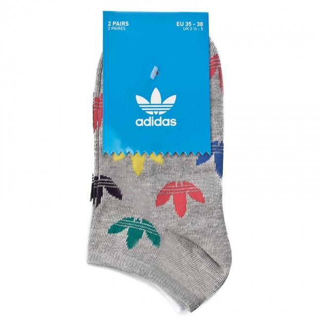 2 pares de calcetines de bajo de mujer adidas Liner Sock 2P K br9619 mgreyh
