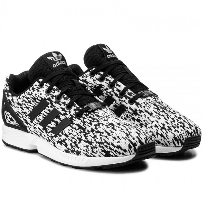 Shoes adidas - Zx Flux J BY9829 Cblack/Cblack/Ftwwht - Sneakers - Low shoes - Women's shoes - www.efootwear.eu