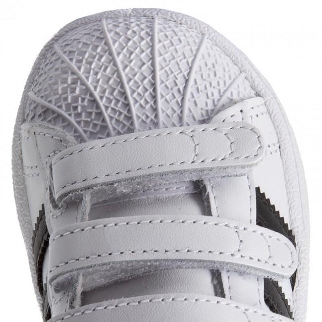 6786333a41d Shoes adidas - Superstar Cf I BZ0418 Ftwwht Cblack Ftwwht - Velcro - Low  shoes - Girl - Kids  shoes - www.efootwear.eu