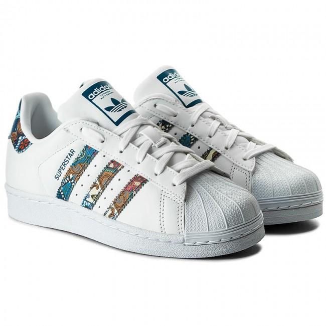 7078f879c9c5e Shoes adidas - Superstar W BY9177 Ftwwht Ftwwht Nobtea - Sneakers - Low  shoes - Women s shoes - www.efootwear.eu