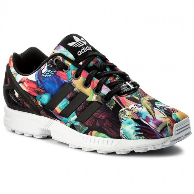 Zapatos adidas zx Flux W by9217 cblack / cblack / ftwwht Sneakers