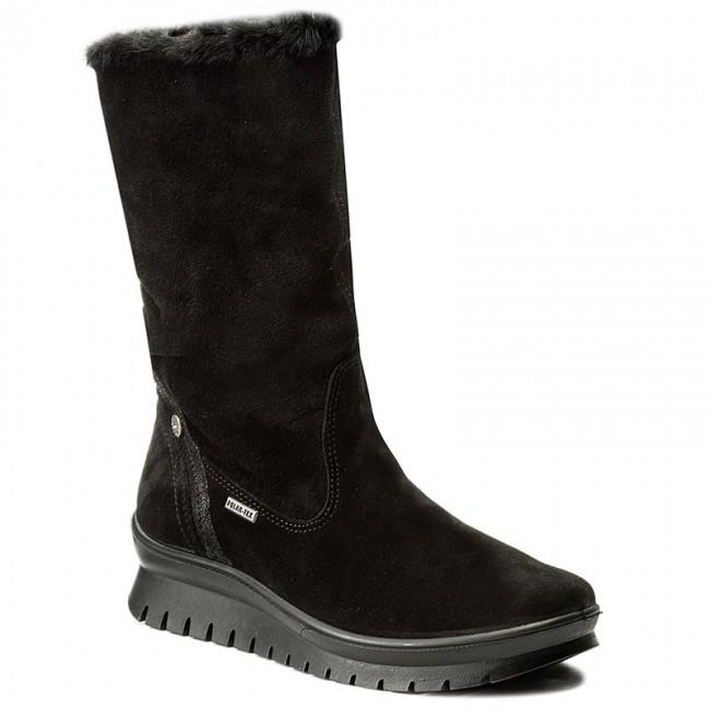 Snow MANITU and Boots 991082 High boots Winter boots 1 Schwarz F6awZAnFqv