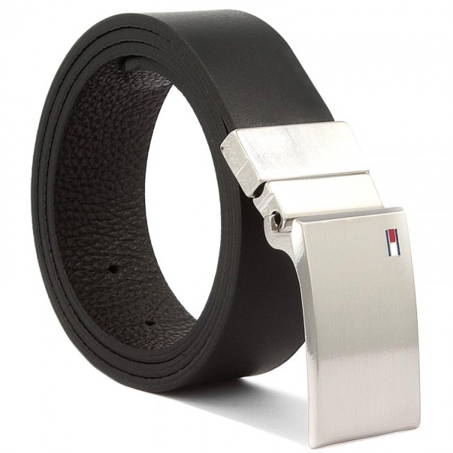 ebfc2f13c0e5b Men s Belt TOMMY HILFIGER - Th Plaque Belt 3.5 Rev 90 AM0AM02297 901 ...