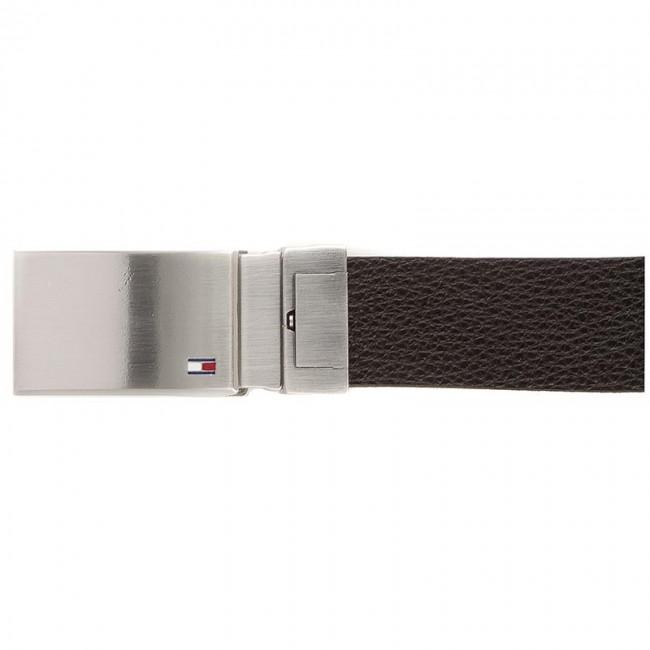 4b0c18f1fa Men s Belt TOMMY HILFIGER - Th Plaque Belt 3.5 Rev 90 AM0AM02297 901 ...