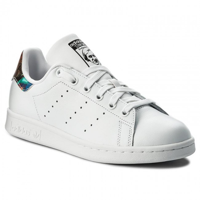 7cb17d2faa41e Shoes adidas - Stan Smith W BZ0411 Ftwwht Ftwwht Cblack - Sneakers ...