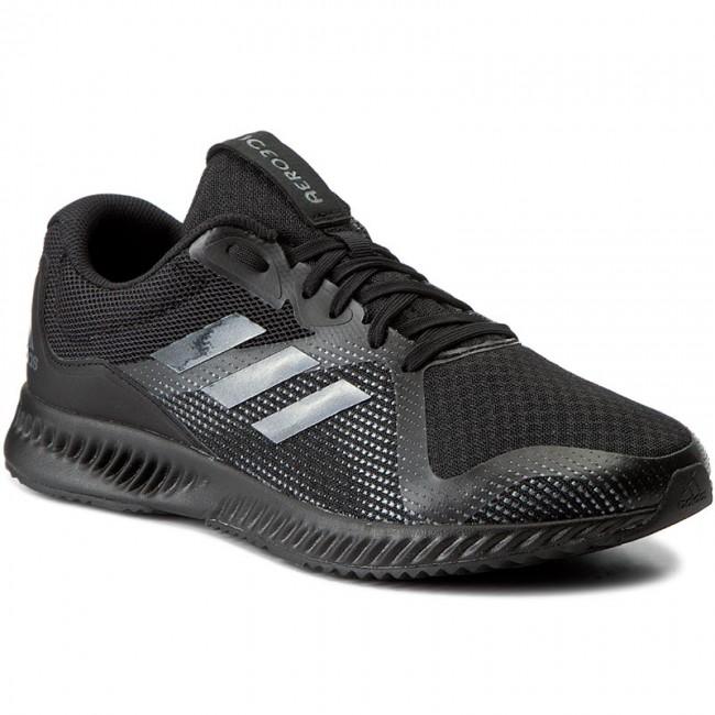 5790e5907cfd1 Shoes adidas - Aerobounce Racer M BW1561 Cblack Cblack - Indoor ...