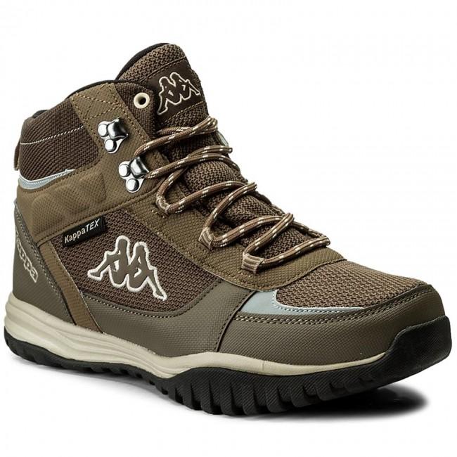 Kappa MOUNTAIN TEX - Walking boots - black/grey U8ae3f