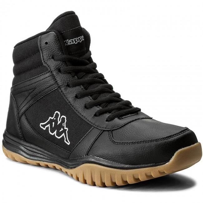 Mens Brasker Mid Classic Boots, Black Kappa