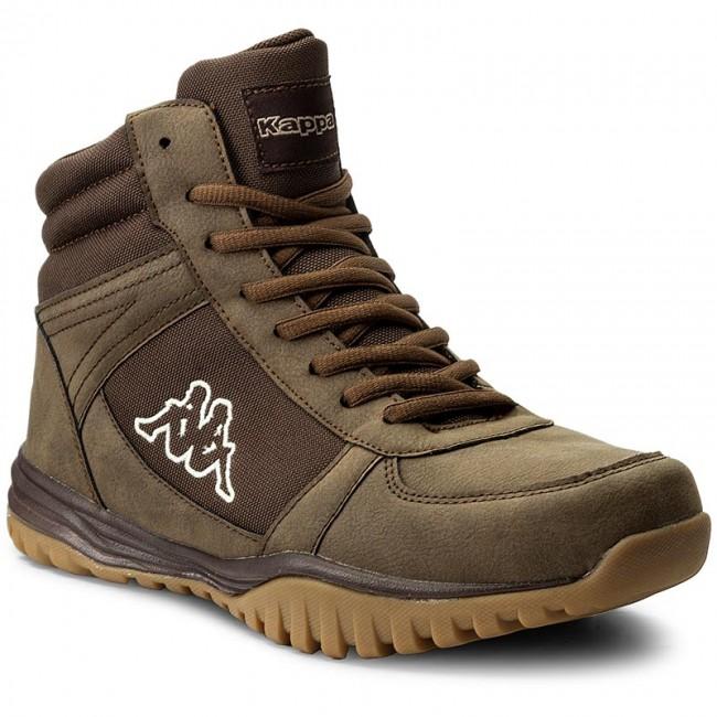 Kappa BRASKER MID - Walking boots - brown MazKjGmHr