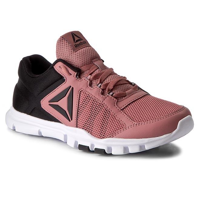 f454e55c070bb2 Shoes Reebok - Yourflex Trainette 9.0 Mt BS9284 Rose Black White ...