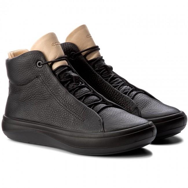 Sneakers ECCO Kinhin 43101350706 BlackVeg Tan