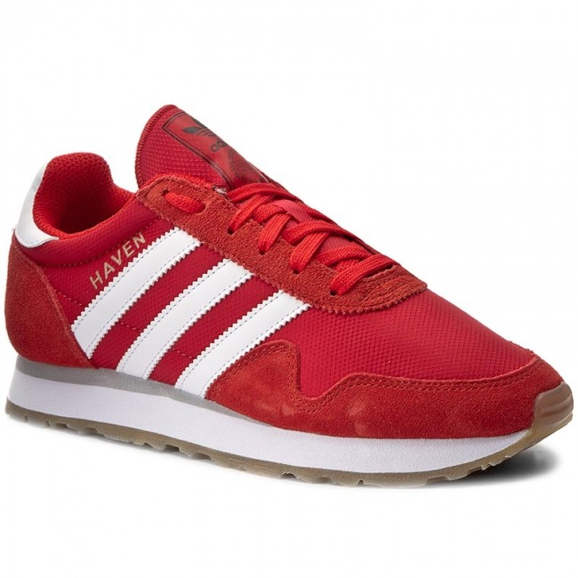 Shoes adidas  Haven BY9714 RedFtwwhtGum3  Sneakers  Low shoes  Womens shoes       0000199797668