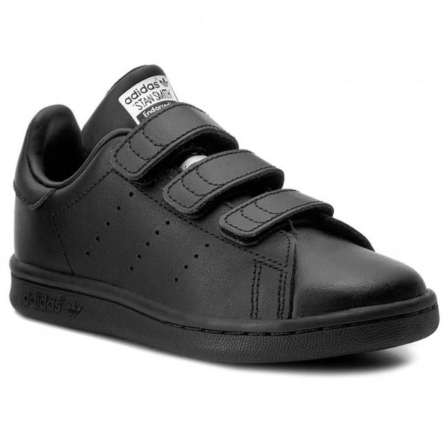 adidas stan smith black velcro