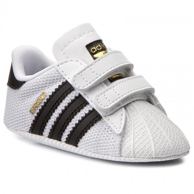 Shoes adidas - Superstar Crib S79916 Ftwwht Cblack Ftwwht - Velcro ... 3bb227db886