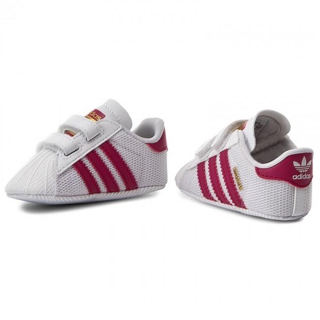 half off b54b6 5d273 Shoes adidas - Superstar Crib S79917 Ftwwht Bopink Ftwwht