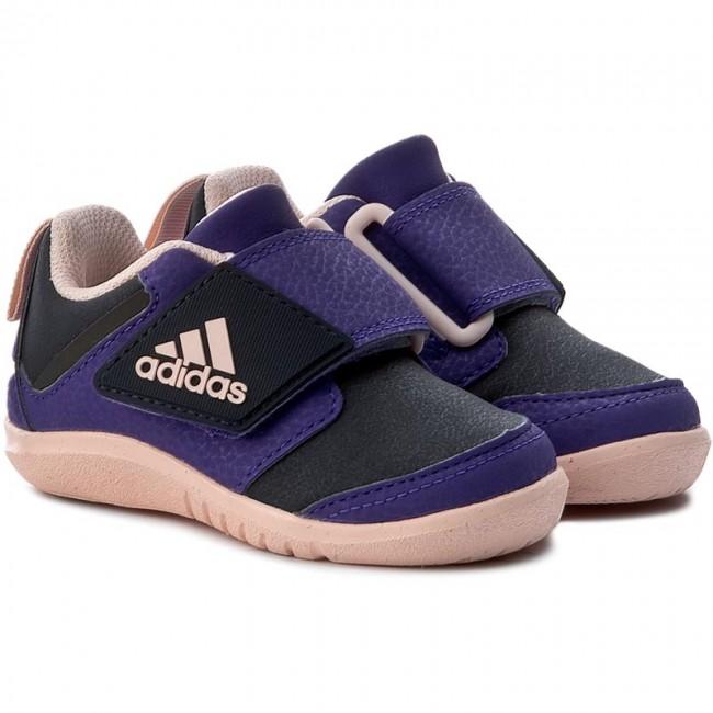 Schuhe adidas - FortaPlay Ac I S81106 Legink/Icepnk/Eneink SOCWDa3