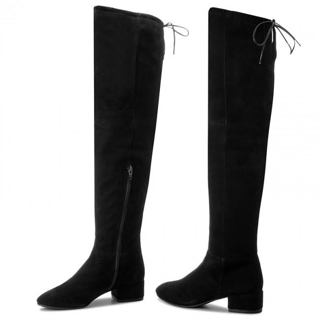 ce7e6cc56f4 Over-Knee Boots VAGABOND - Jamilla 4430-040-20 Black - Musketeer ...