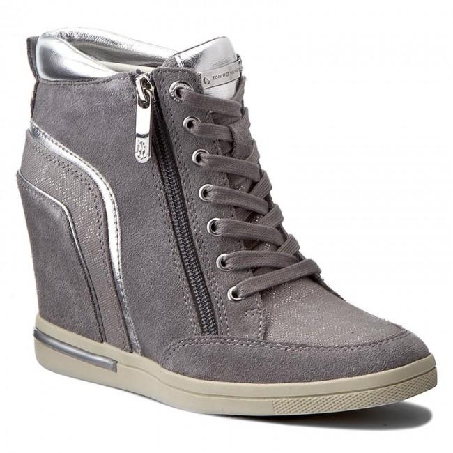 online store c3b8c 6c3df Sneakers tommy hilfiger sebille light grey jpg 650x650 Fw0fw01423 midnight