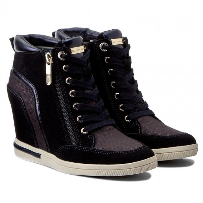 on sale 96d6d 9bcd3 Sneakers tommy hilfiger sebille midnight jpg 650x650 Fw0fw01423 midnight
