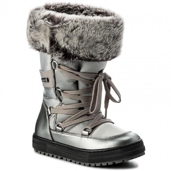9c198d6e832 Snow Boots NATURINO - Avila 0013501193.02.9111 Acciaio S - Trekker ...