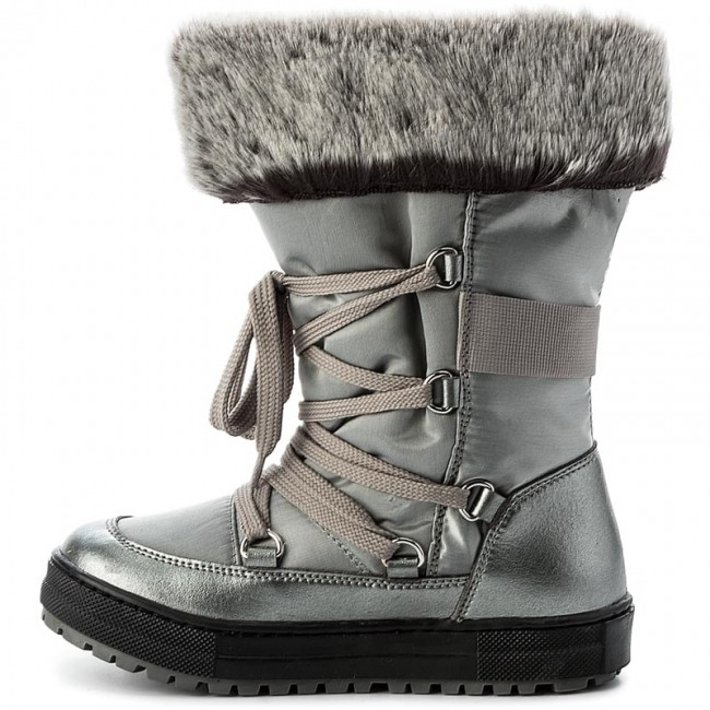07dfe5e932d Snow Boots NATURINO - Avila 0013501193.02.9111 Acciaio S - Trekker boots -  High boots and others - Girl - Kids' shoes - www.efootwear.eu