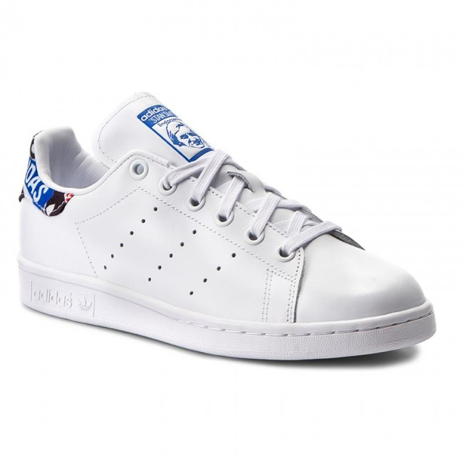 Shoes adidas  Stan Smith CP725 FtwwhtBlueCblack  Sneakers  Low shoes  Womens shoes       0000199805752