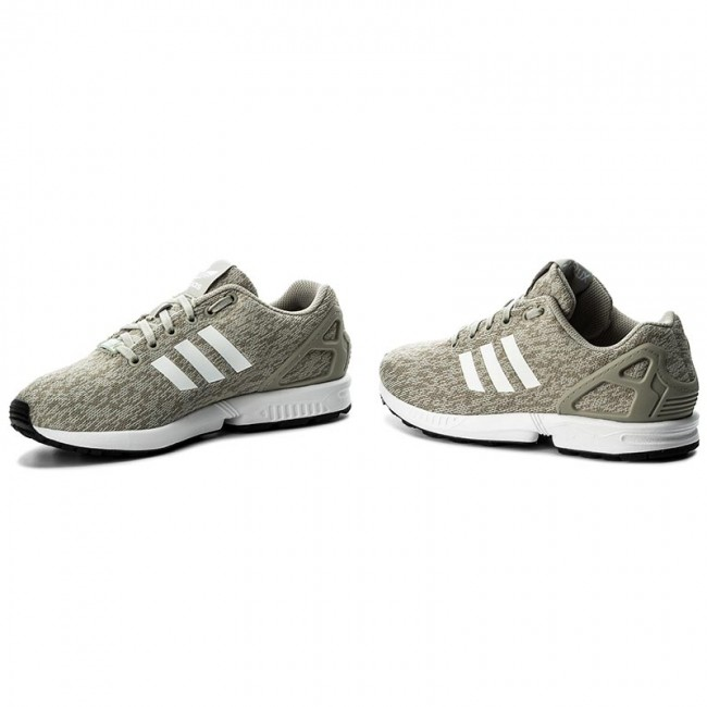 f15523def457 Shoes adidas - Zx Flux BY9424 Sesame Ftwwht Cblack - Sneakers - Low ...
