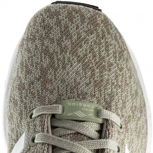 c8281e7e5253 Shoes adidas - Zx Flux BY9424 Sesame Ftwwht Cblack - Sneakers - Low shoes -  Men s shoes - www.efootwear.eu