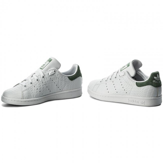 Chaussures W adidas Stan Smith W Chaussures BZ0409 Ftwwht Ftwwht Tragrn Baskets ec5b18