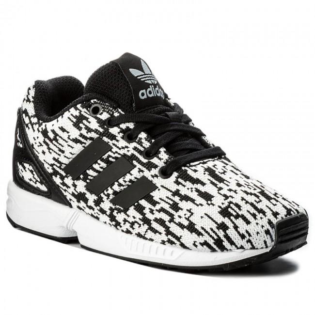 5c2a6f252281e5 Shoes adidas - Zx Flux C BY9856 Cblack Cblack Ftwwht - Laced shoes ...