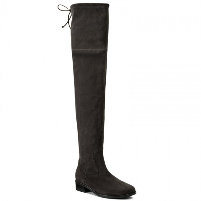 e4916a8eee8 Over-Knee Boots PETER KAISER - 85847 128 Carbon Suede - Musketeer ...