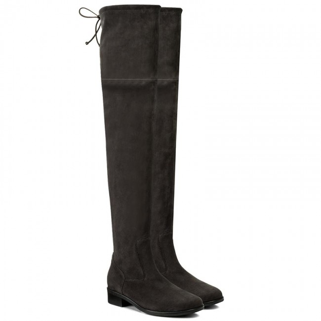 1af711c49c3 Over-Knee Boots PETER KAISER - 85847 128 Carbon Suede - Musketeer - High  boots and others - Women s shoes - www.efootwear.eu