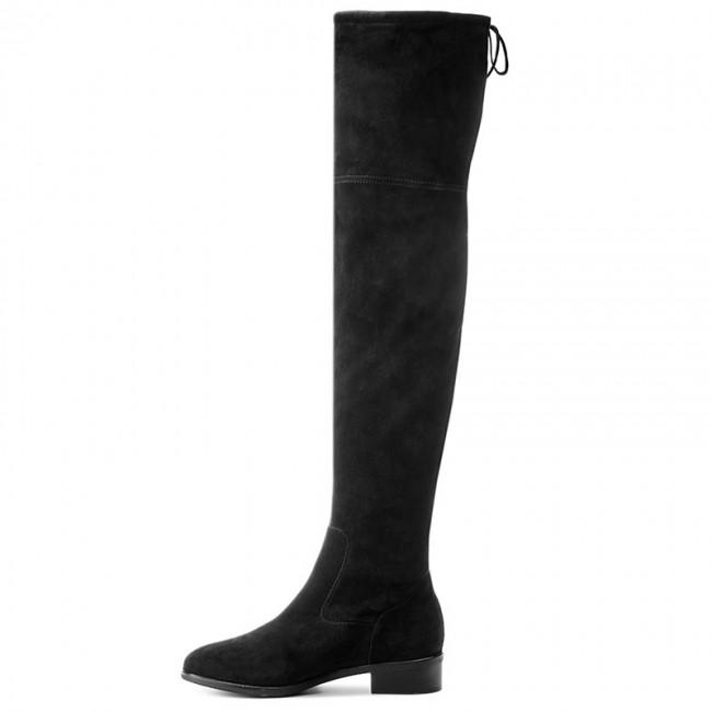 3f572460267 Over-Knee Boots PETER KAISER - Pesa 85847 240 Schwarz Suede ...