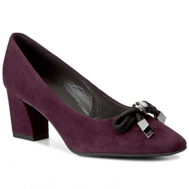 Shoes PETER KAISER  Grucella 46847113 Acai Suede  Heels  Low shoes  Womens shoes       0000199809101