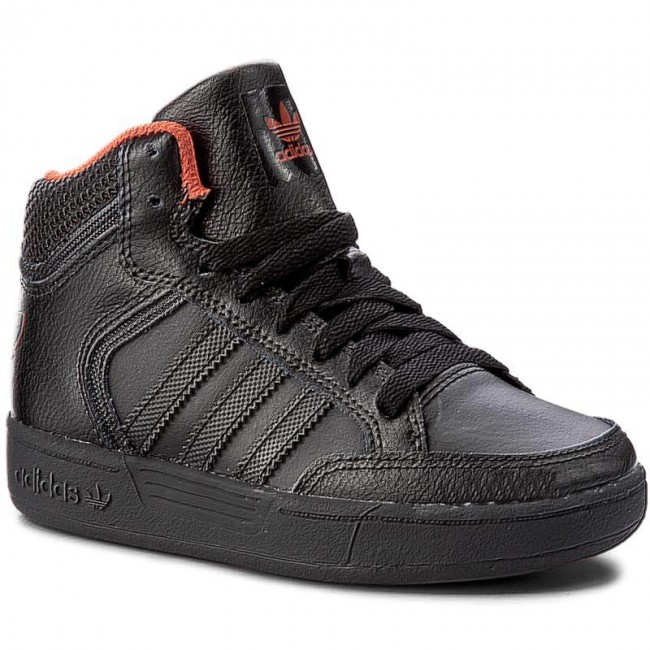 scarpe adidas varial metà j by4084 cblack / cblack / natora scarpe